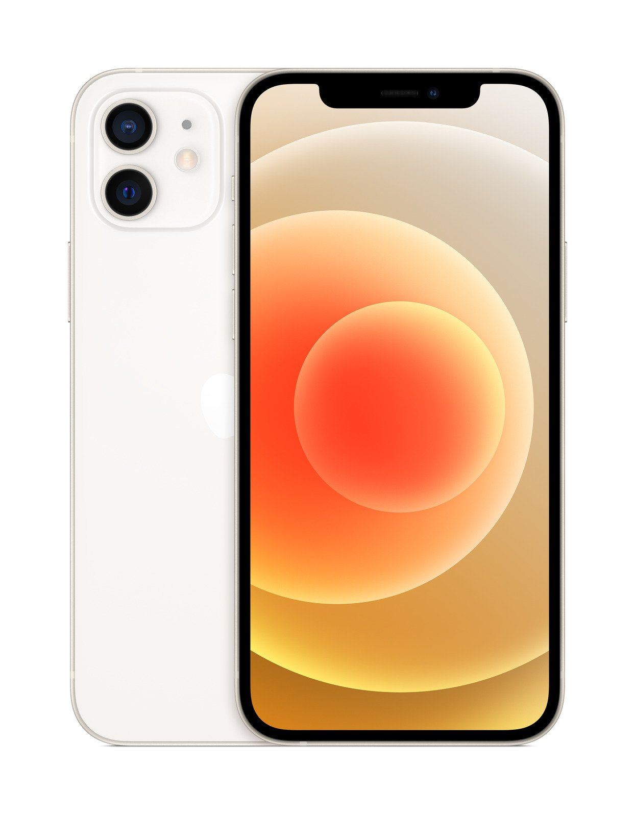 Apple iPhone 12 128GB weis (Super Retina XDR Display, 5G, FaceTime, 4K Videoaufnahme, MGJC3ZD/A) MGJC3ZD/A Mobilais Telefons