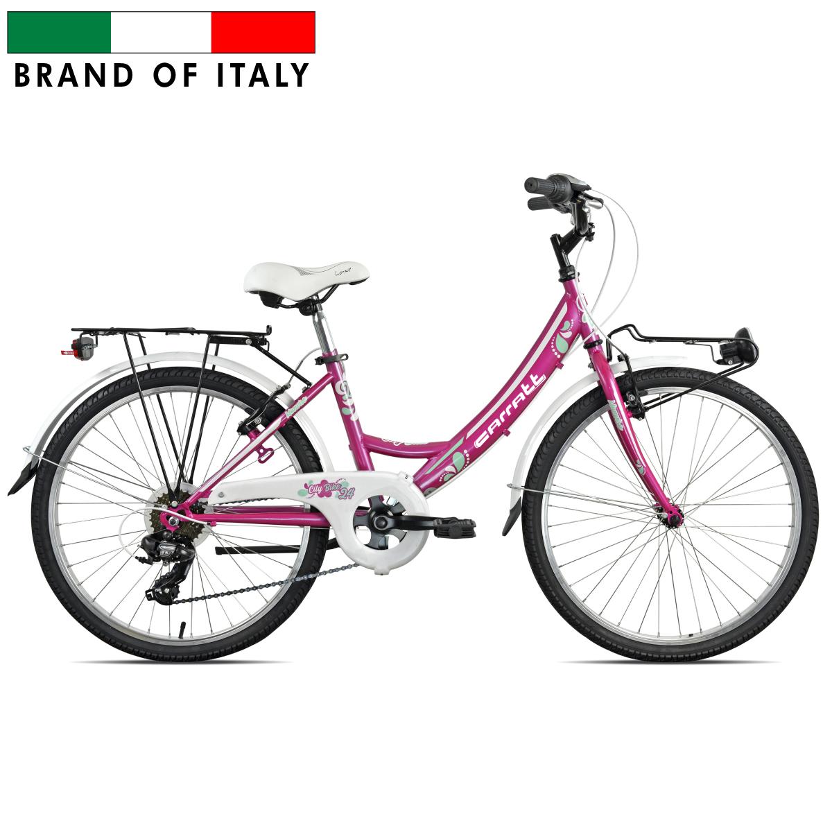 CARRATT 4400 CTB24 TY300 6V DONNA FUXIA 104400D Pilsētas velosipēds
