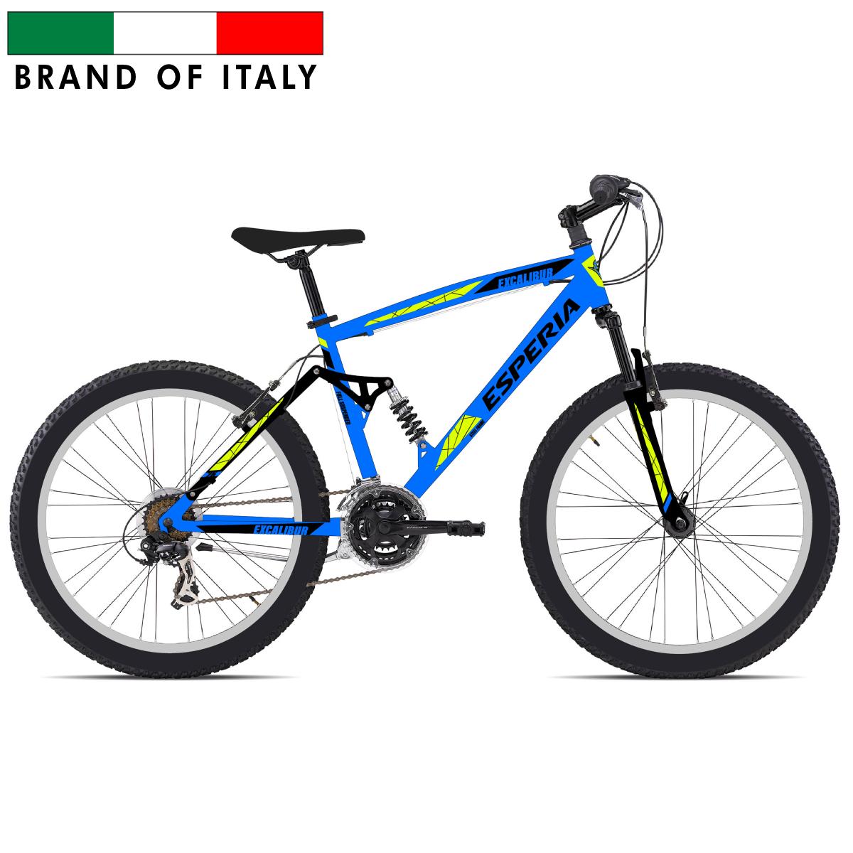 ESPERIA FULL 26 21V TX35 BLUE 203900B Pilsētas velosipēds