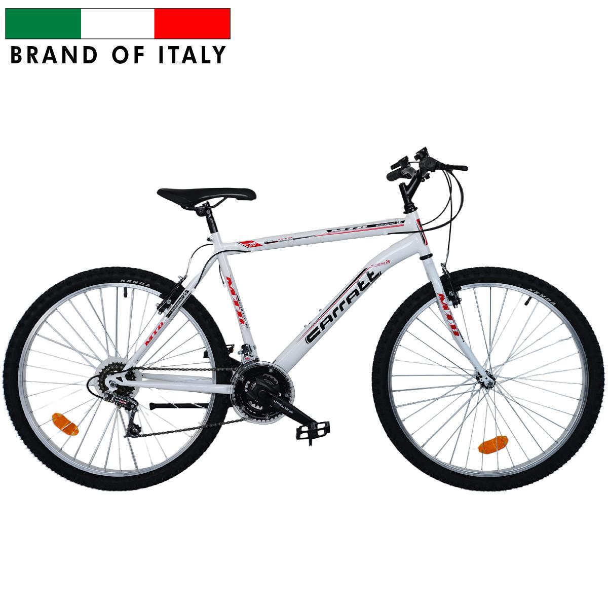 CARRATT 8300 26 18V FRIZIONE WHITE 208300U3 Pilsētas velosipēds