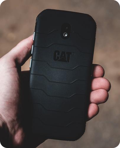 "CAT S42H+ 32GB DS Black 5,5"" EU Android Mobilais Telefons"