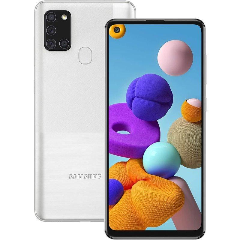 Samsung A217F/DSN Galaxy A21s Dual LTE 32GB silver A217F/DSN silver Mobilais Telefons