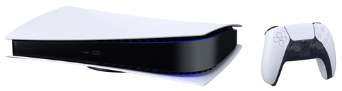 Sony PlayStation 5 PS5 Digital Edition 825 GB Wi-Fi Melns, Balts spēļu konsole