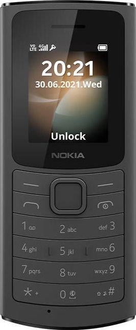 Telefon komorkowy Nokia 110 4G Dual SIM Czarny 8_2273110 Mobilais Telefons