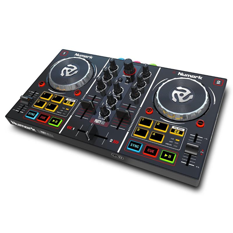 DJ kontrolieris Party Mix, Numark