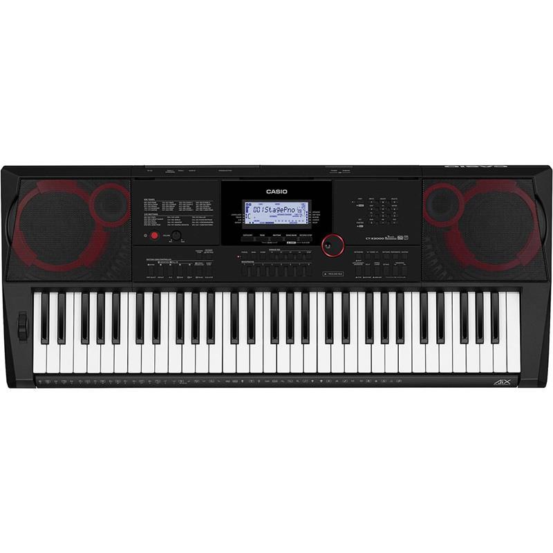 Sintezators CT-X3000, Casio mūzikas instruments
