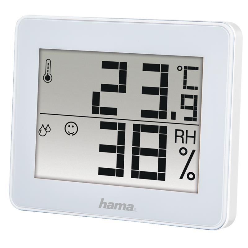 Termometrs-higrometrs TH-130, Hama termometrs