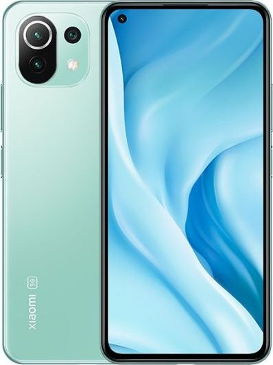 Smartfon Xiaomi Mi 11 Lite 5G 128GB Zielony (31710) 34075 Mobilais Telefons