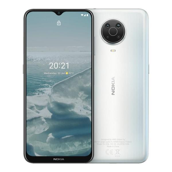 Nokia G20 4GB/64GB Silver Mobilais Telefons