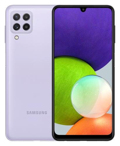 Samsung Galaxy A22 4GB/64GB Violet Mobilais Telefons
