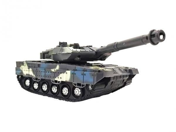 tank with light and music 1:18 rtr- blue TPC/38451-BLU