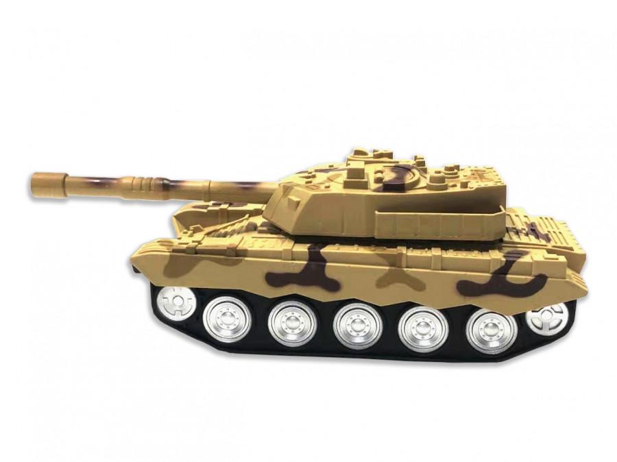 landcorps tank with 1:18 rtr light - yellow TPC/38273-YEL