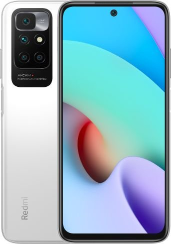 Smartfon Xiaomi Redmi 10 4/128GB Dual SIM Bialy  (35248) 35248 Mobilais Telefons