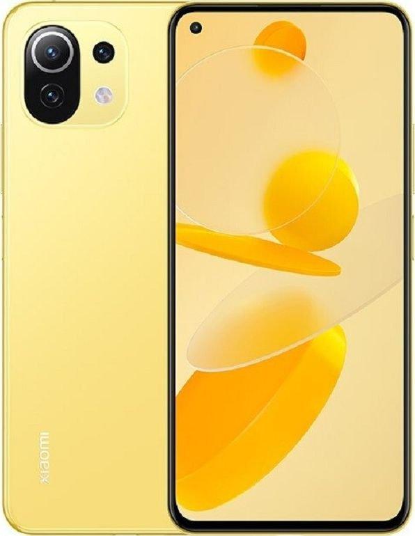 Smartfon Xiaomi Mi 11 Lite 5G 6/128GB Dual SIM Zolty  (34078) 34078 Mobilais Telefons