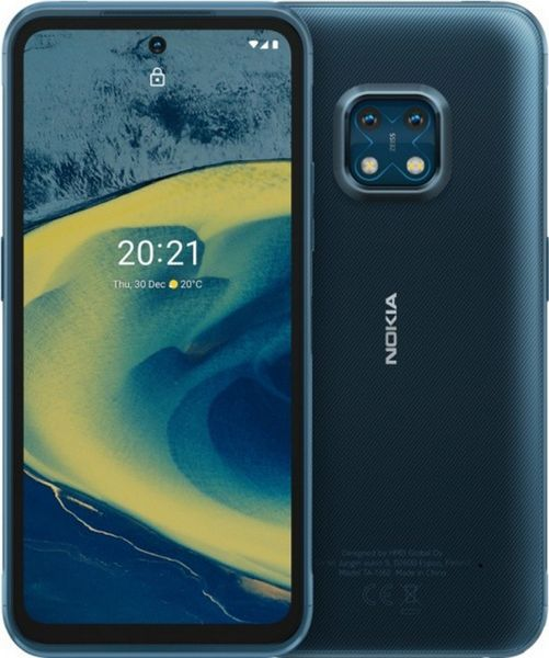Smartfon Nokia XR20 5G 4/64GB Dual SIM Niebieski  (VMA750N9DE1LV0                 ) VMA750N9DE1LV0 Mobilais Telefons