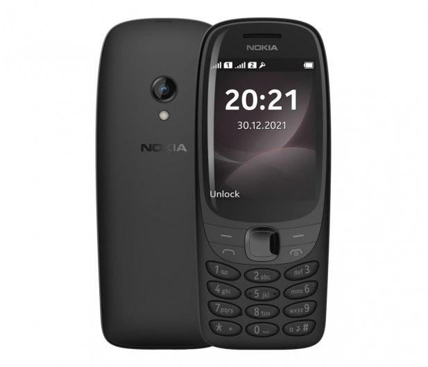 Nokia 6310 Dual Sim Blac k TA-1400 DS PL BLACK Mobilais Telefons