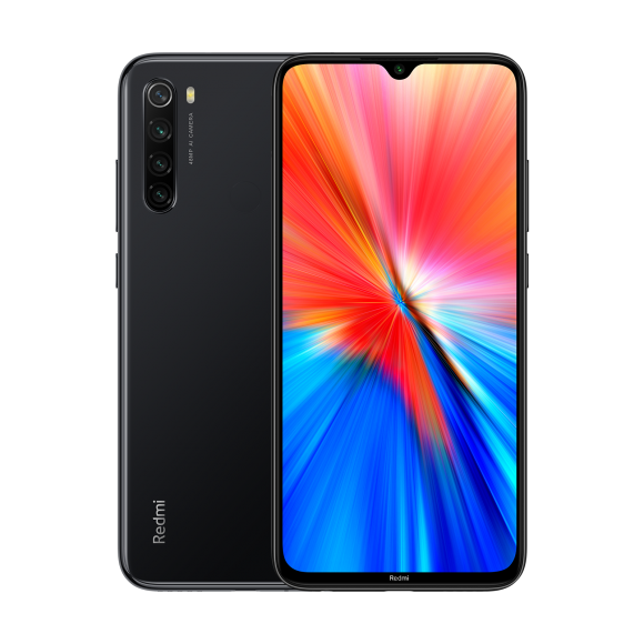 Smartfon Xiaomi Redmi Note 8 2021 4/64GB Dual SIM Czarny  (2_387065) 2_387065 Mobilais Telefons