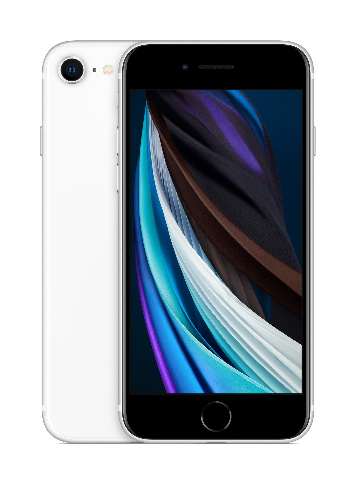 Apple iPhone SE 64GB weis (Retina HD Display, 4G LTE, FaceTime, 4K Videoaufnahme, MHGQ3ZD/A) MHGQ3ZD/A Mobilais Telefons