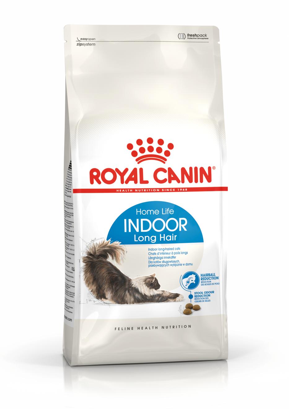 Royal Canin Home Life Indoor Long Hair 10 kg kaķu barība