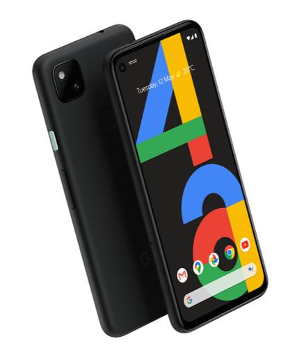 "Google Pixel 4a G025N 6GB/128GB OLED 5.81"" Just Black Mobilais Telefons"