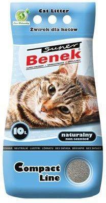 CERTECH SUPER BENEK 25L Compact Natural piederumi kaķiem