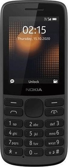 Telefon komorkowy Nokia 215 4G Dual SIM Czarny 215 4G Dual SIM Czarny Mobilais Telefons