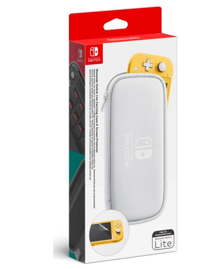 Izpārdošana - Nintendo Switch Lite Bag and Screen Protector (ir veikalā) spēļu aksesuārs