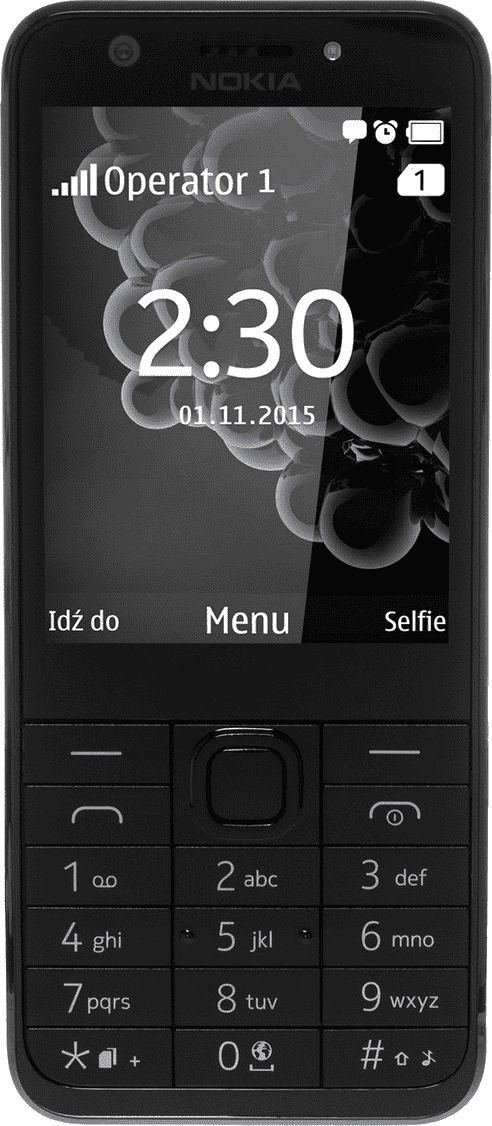 "Nokia 230 DS 7.11 cm (2.8"") 91.8 g Grey,Silver Feature phone Mobilais Telefons"