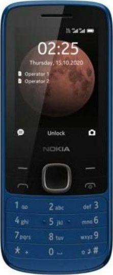 Nokia 225 4G TA-1316 Blue, 2.4 , TFT, 240 x 320 pixels, 64 MB, 128 MB, Dual SIM, Nano-SIM, 3G, Bluetooth, 5.0, USB version MicroUSB, Built-i Mobilais Telefons