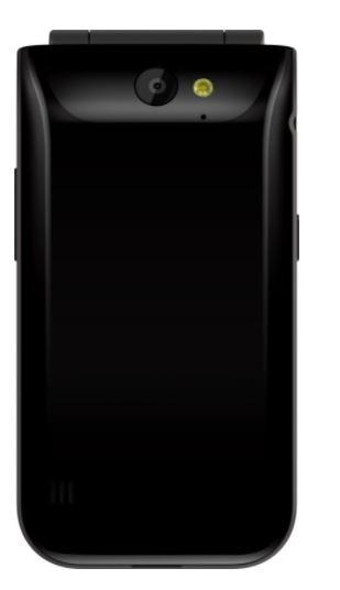 Phone 2720 FLIP DUAL SIM BLACK 2720 TA-1175 DS PL Czarny Mobilais Telefons