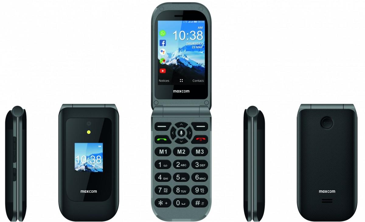 Phone MK 399 KAIOS SYSTEM 4G VoLTE Mobilais Telefons