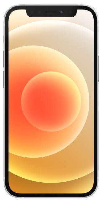 MOBILE PHONE IPHONE 12 MINI 5G/128GB WHITE MGE43 APPLE MGE43QL/A Mobilais Telefons