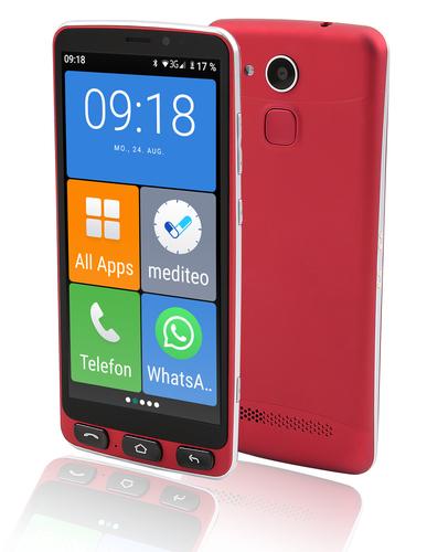 Olympia Neo red Mobilais Telefons