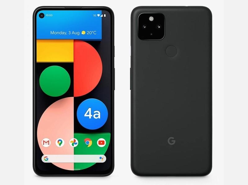 Google Pixel 4a 5G 6GB/128GB, 6.2 , OLED, Just Black Mobilais Telefons