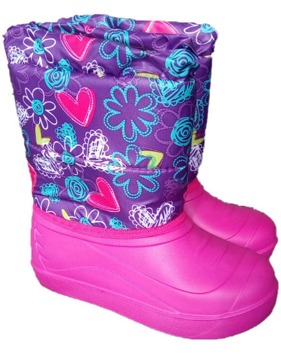 Zabaki bernu EVA-KSD2 31.izm violeta kr. Gumijas apavi