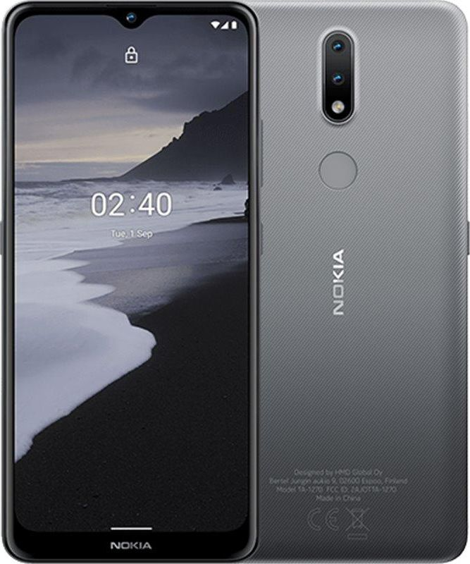 Smartfon Nokia 2.4 32 GB Dual SIM Szary  (TA-1270GR) TA-1270GR Mobilais Telefons