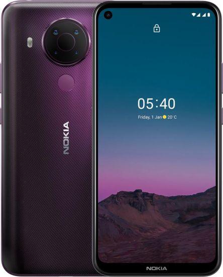 Smartfon Nokia 5.4 64GB Fioletowy 64384090557500 Mobilais Telefons