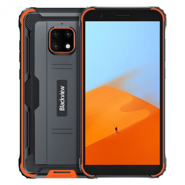 Blackview BV4900 Dual SIM 3/32GB Orange 4328 Mobilais Telefons