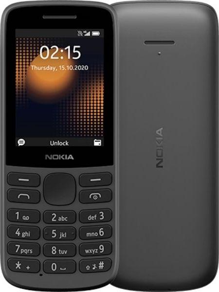 Telefon komorkowy Nokia 215 Dual SIM (TA-127) 215 4G Dual SIM Czarny Mobilais Telefons