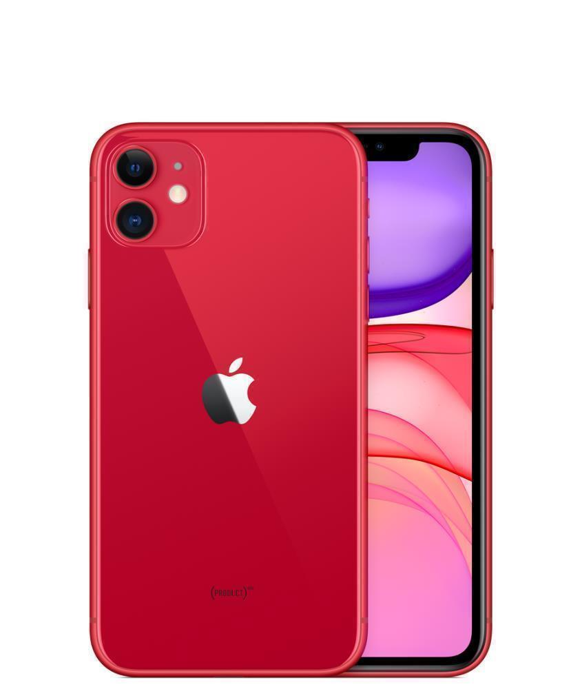 MOBILE PHONE IPHONE 11/64GB RED MHDD3FS/A APPLE MHDD3FS/A Mobilais Telefons