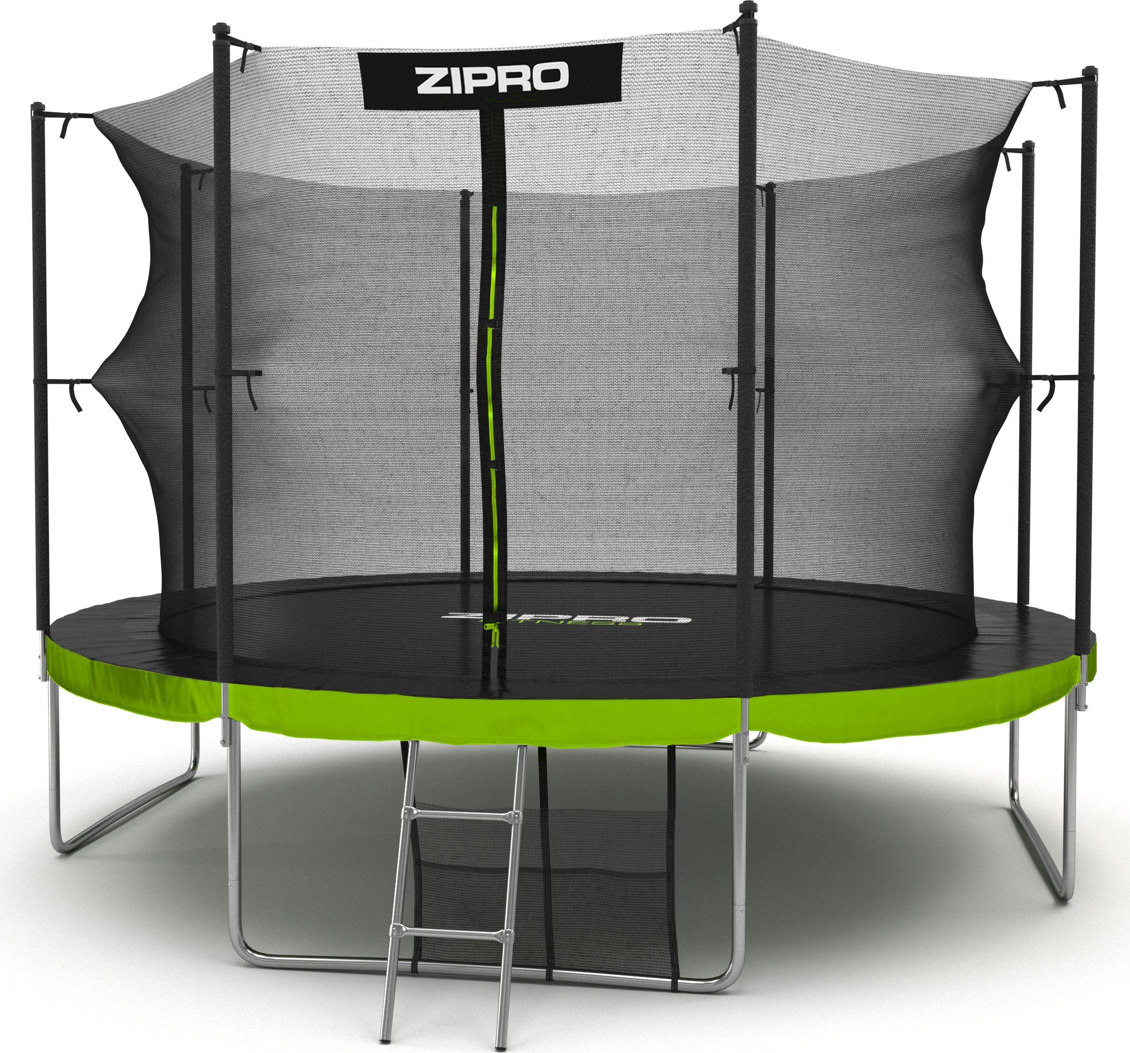 Zipro Garden trampoline with inner mesh 12FT 374cm + shoe bag for FREE! Batuts