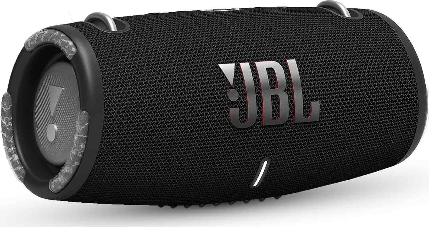 JBL XTREME 3, portable speaker with Bluetooth, built-in battery, IP67, Partyboost and strap, Black pārnēsājamais skaļrunis