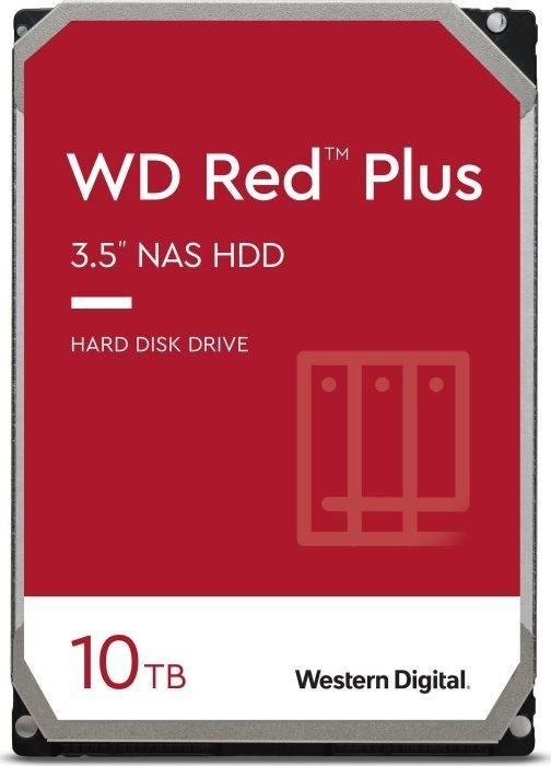 WD Red Plus 10TB SATA 6Gb/s 3.5inch HDD cietais disks