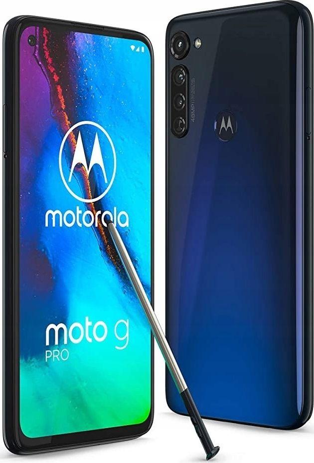 Smartfon Motorola Moto G8PRO 128 GB Dual SIM Niebieski  (PAK00004PL) PAK00004PL Mobilais Telefons