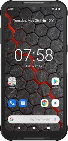 Smartfon myPhone Hammer Blade 3 4/64GB Dual SIM Czarny  (Hammer Blade 3) Hammer Blade 3 Mobilais Telefons