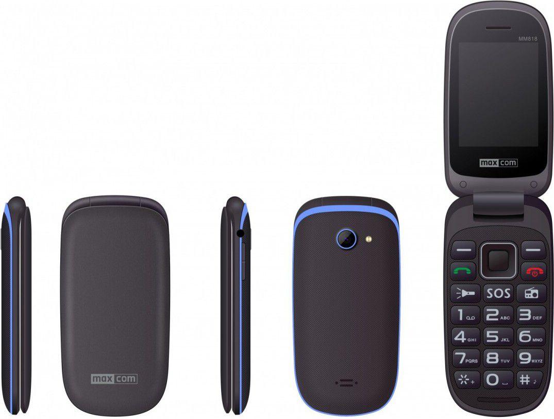 Telefon komorkowy Maxcom MM 818 Dual SIM (MAXCOMMM818NIEB) MAXCOMMM818NIEB Mobilais Telefons
