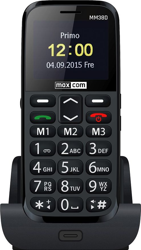 Telefon komorkowy Maxcom MM38D MAXCOMMM38D Mobilais Telefons