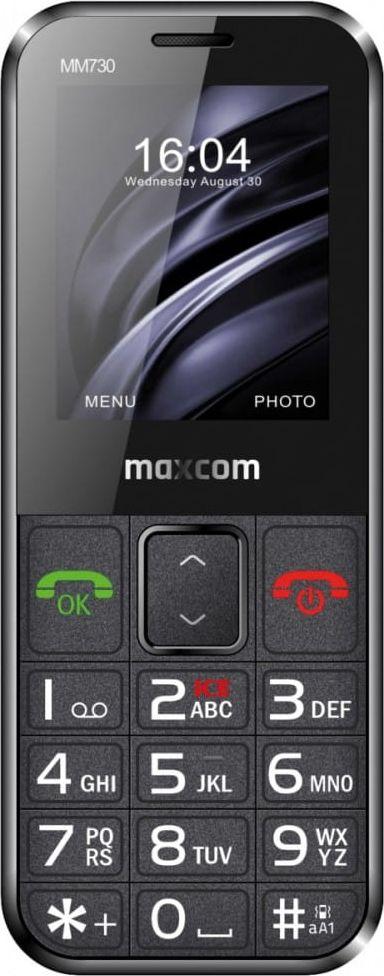 GSM Phone MM 730BB Comfort Mobilais Telefons