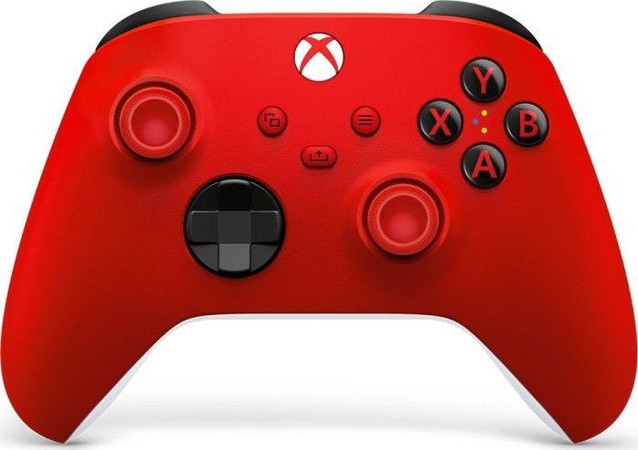 Microsoft Xbox Series X Pulse Red (QAU-00012) spēļu konsoles gampad