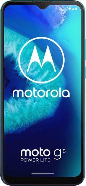 Smartfon Motorola Moto G8 Power Lite 64 GB Dual SIM Niebieski  (PAJC0016DE) PAJC0016DE Mobilais Telefons
